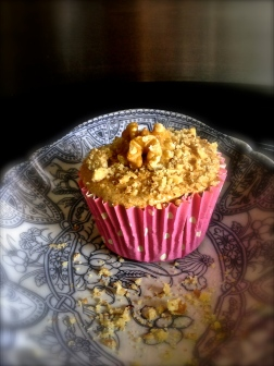 Coffee & Walnut Cupcakes